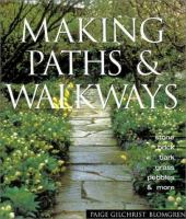 Making Paths & Walkways