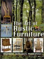 The Art of Rustic Furniture