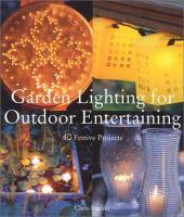 Garden Lighting for Outdoor Entertaining