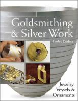 Goldsmithing and Silver Work book cover