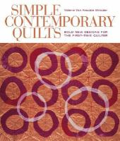 Simple Contemporary Quilts