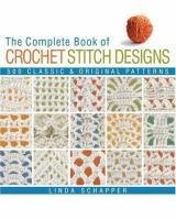 Complete Book of Crochet Stitch Designs