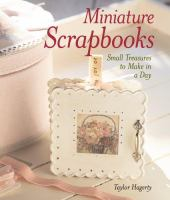 Miniature Scrapbooks