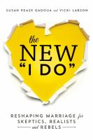 "The New ""I Do"""