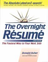 The Overnight Résume