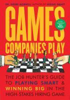 Games Companies Play