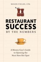 Restaurant Success, by the Numbers