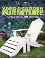 Yard & Garden Furniture