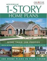Most-popular 1-story Home Plans