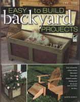 Easy to Build Backyard Projects
