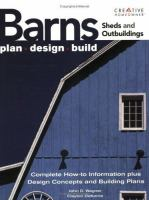 Barns, Sheds and Outbuildings