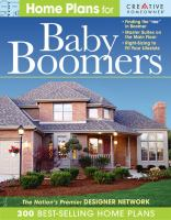 Home Plans for Baby Boomers