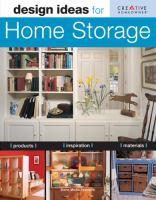 Design Ideas for Home Storage