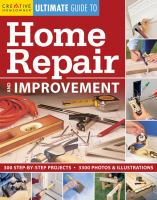 Creative Homeowner Ultimate Guide to Home Repair and Improvement
