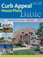 Curb Appeal House Plans Bible