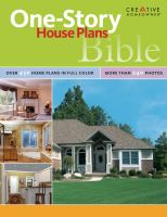 One Story House Plans Bible