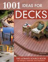 1001 Design Ideas for Decks