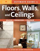 Floors, Walls, and Ceilings