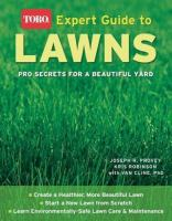 Toro Expert Guide to Lawns
