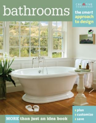 Bathrooms: the smart approach to design book cover