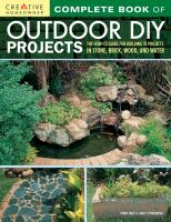Complete Book of Outdoor DIY Projects