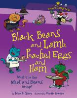 Black Beans and Lamb, Poached Eggs and Ham