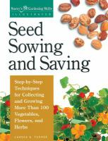 Image: Seed Sowing and Saving