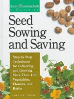 Seed Sowing and Saving