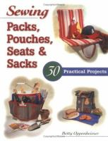 Sewing Packs, Pouches, Seats & Sacks