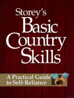 Storey's Basic Country Skills