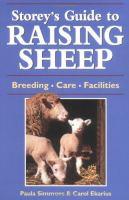 Storey's Guide to Raising Sheep