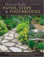 How to Build Paths, Steps & Footbridges