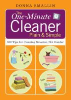 The One-minute Cleaner