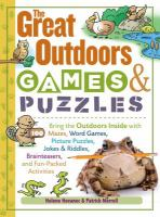 Great Outdoor Games & Puzzles