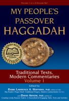 My People's Passover Haggadah