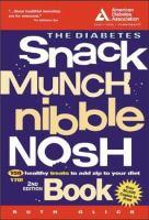 The Diabetes Snack, Munch, Nibble Nosh Book