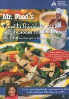 Mr. Food's cocina rápida y fácil para personas con diabetes