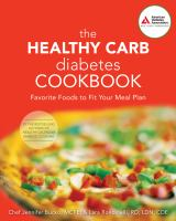 Healthy Carb Diabetes Cookbook