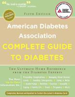 American Diabetes Association Complete Guide to Diabetes