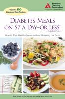 Diabetes Meals on $7 A Day—or Less!