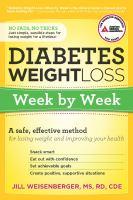 Diabetes Weight Loss Week by Week