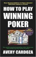How to Play Winning Poker