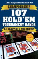 Championship 107 Hold'em Tournament Hands