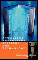 Knowledge Management Strategy and Technology