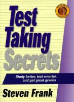 Test Taking Secrets