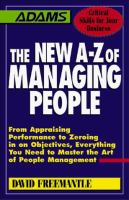 The New A-Z of Managing People