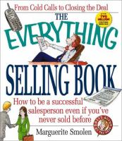 The Everything Selling Book