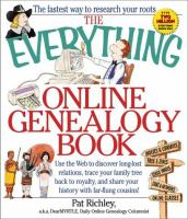 The Everything Online Genealogy Book