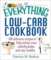 The Everything Low-carb Cookbook