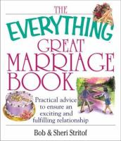 The Everything Great Marriage Book